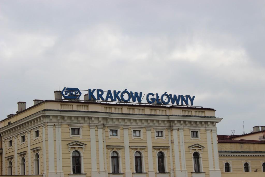 Залізничний вокзал міста Краків