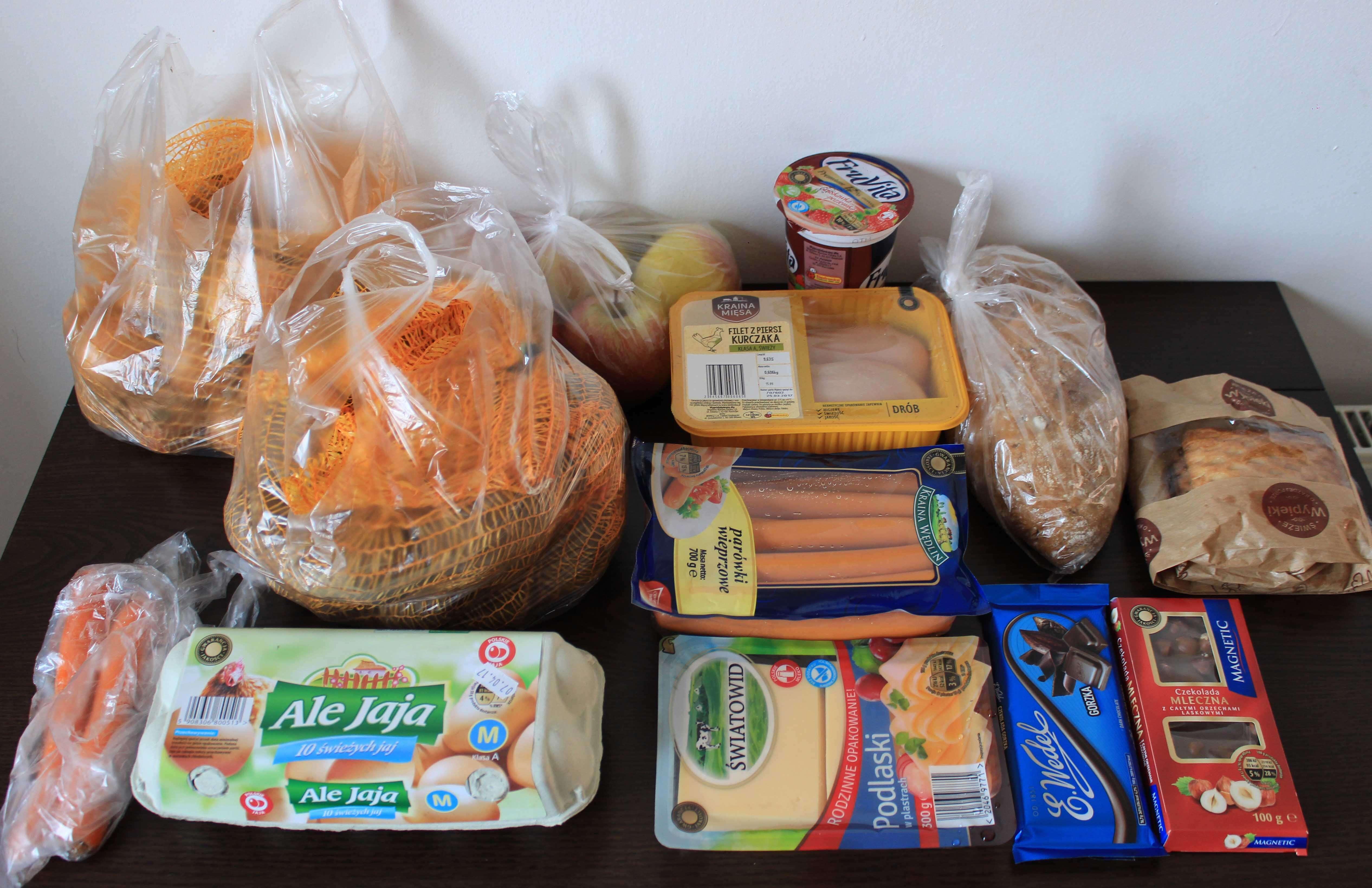 Сколько стоят продукты в Польше