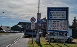 Граница между Польшей и Чехией